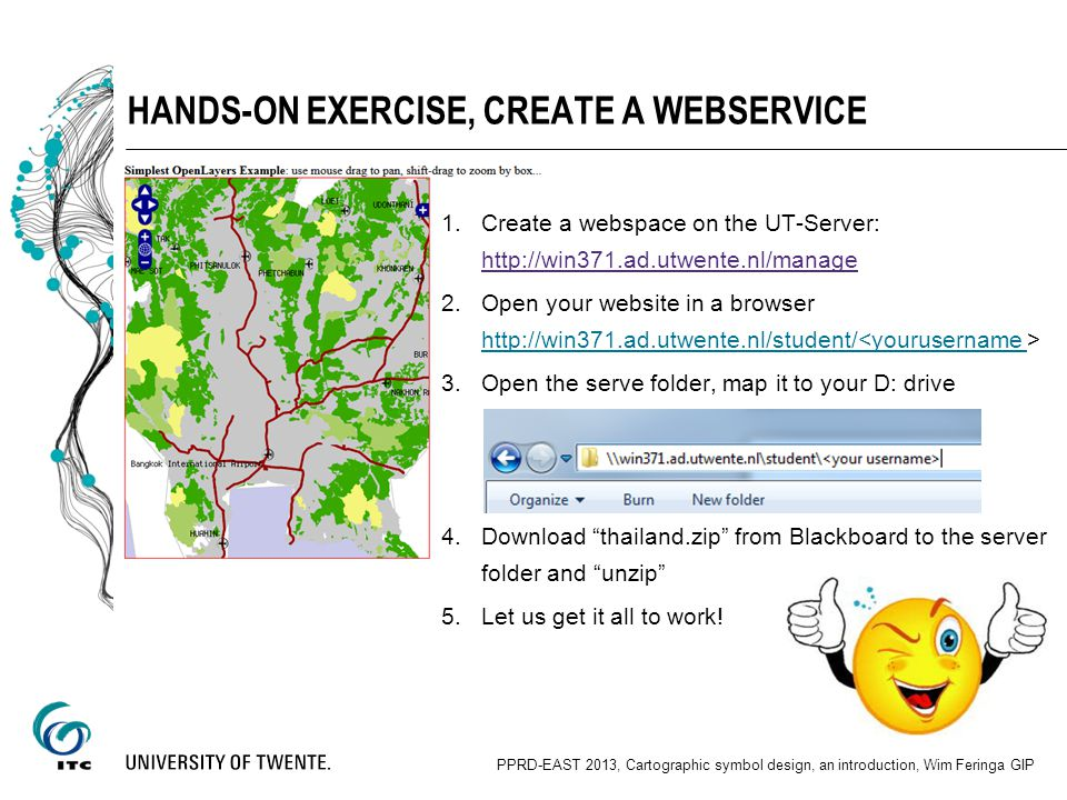 Hands-on Exercise, create a webservice