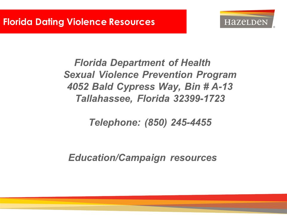 Florida Dating Violence Resources