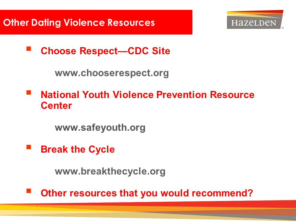 Other Dating Violence Resources
