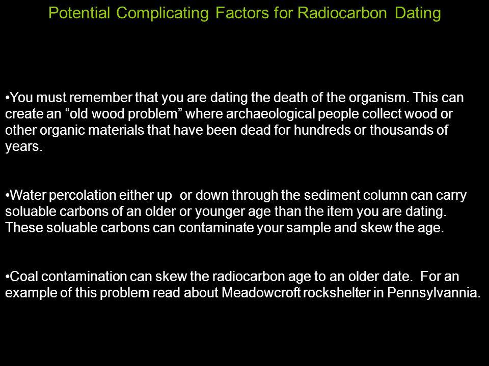 coal radiocarbon dating