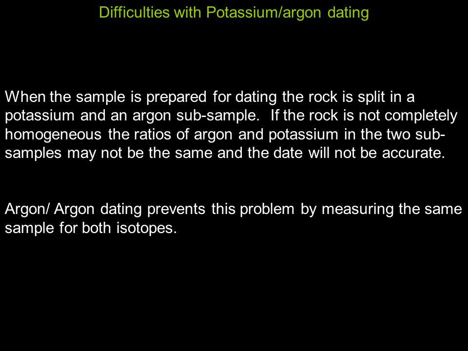 potassium argon dating definition