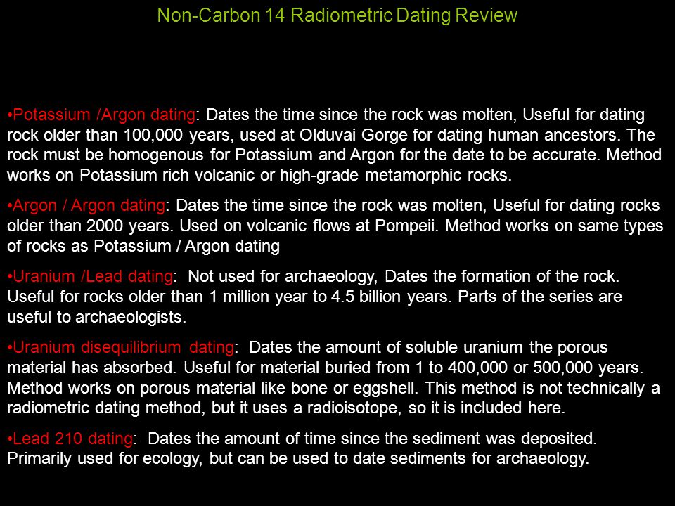Uranium-lead dating limitations definition