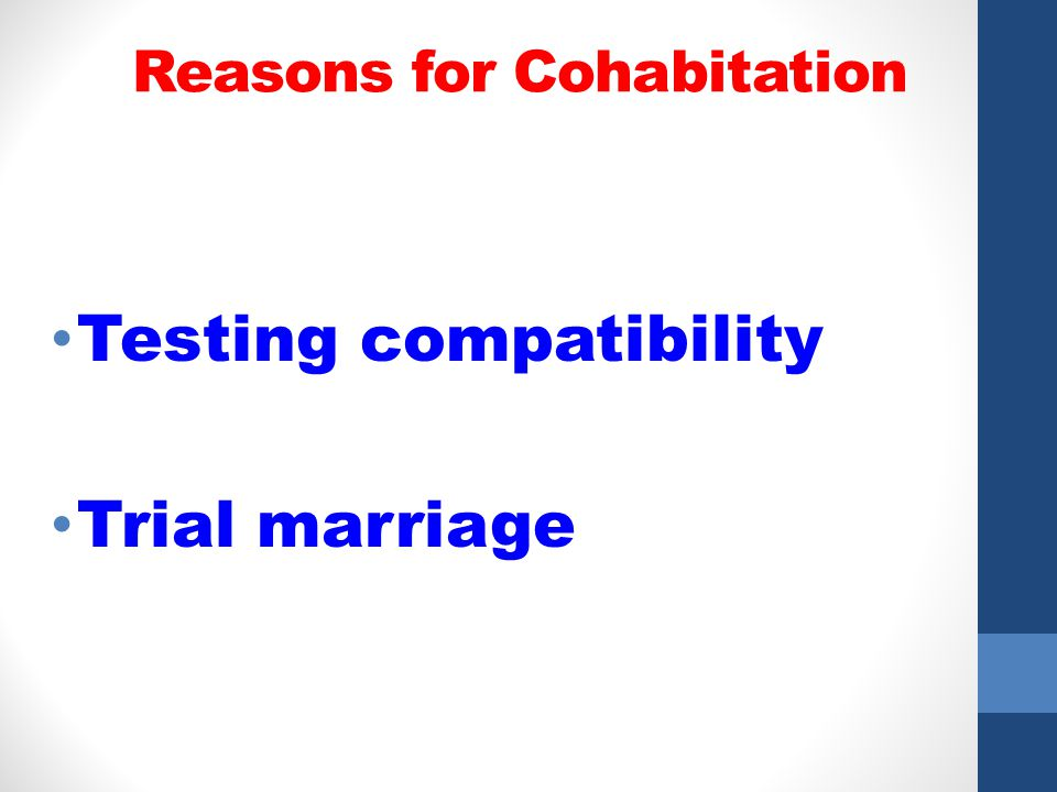 7 reasons consider cohabiting