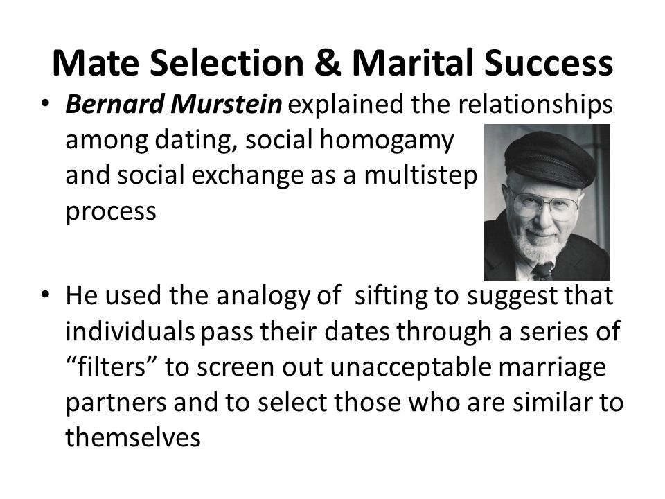mate selection process