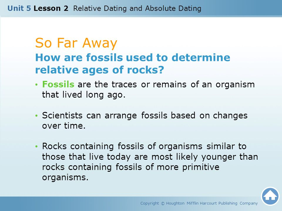 how scientists use relative dating Relative dating is the science of determining the relative order of past events (ie, the age of an object in comparison to another), without necessarily determining their absolute age, (ie estimated age.