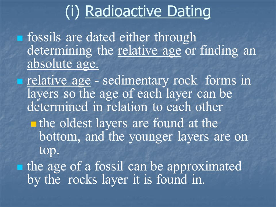 Modern forms of dating