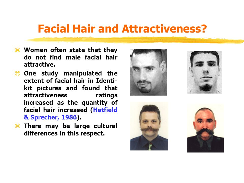 Facial Hair and Attractiveness