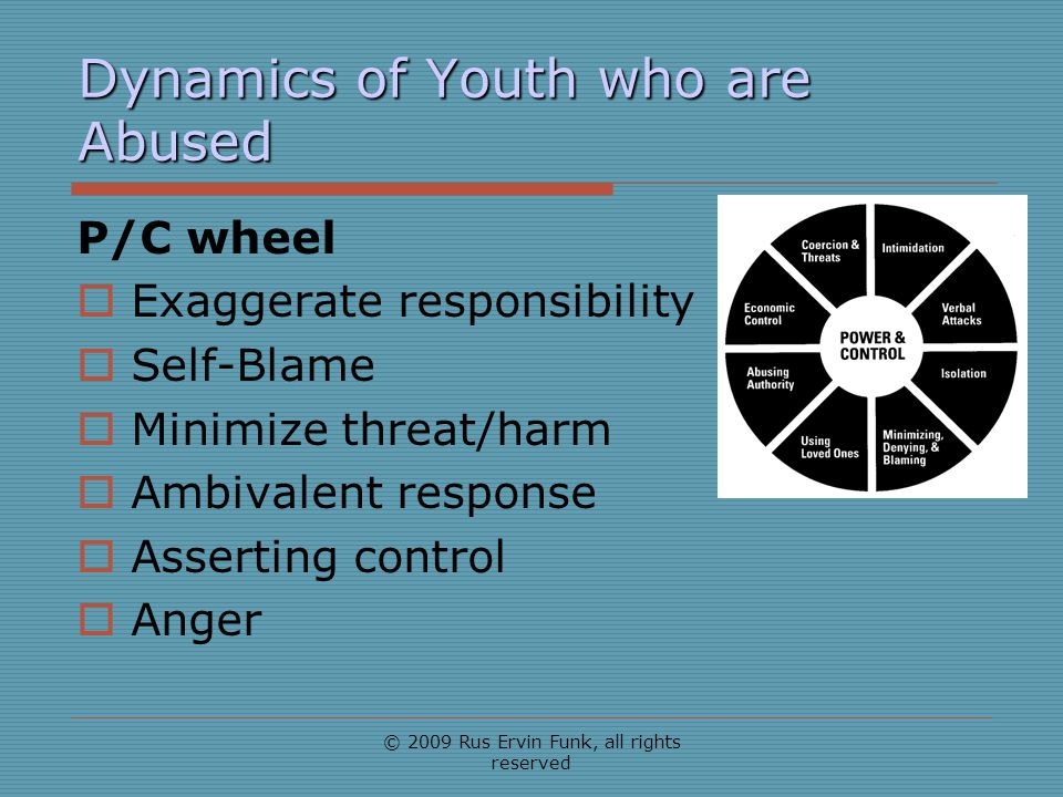 Dynamics of Youth who are Abused