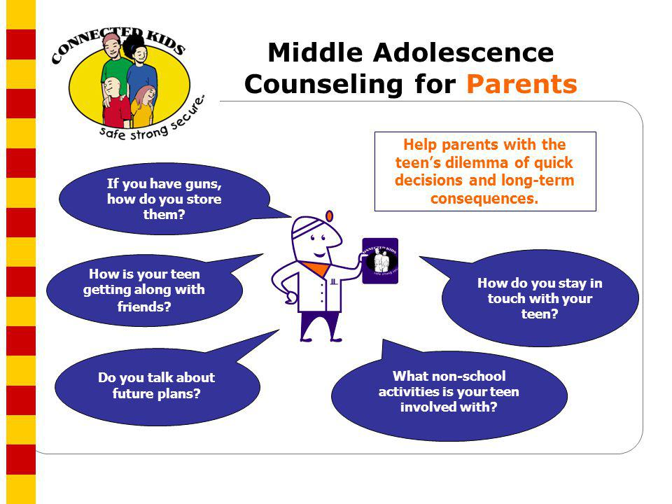 Middle Adolescence Counseling for Parents