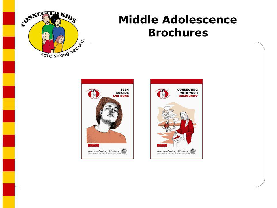 Middle Adolescence Brochures