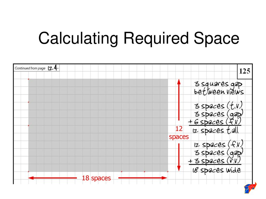Calculating Required Space