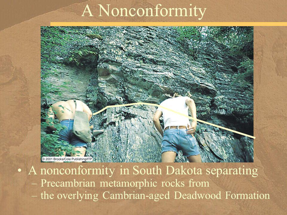 A Nonconformity A nonconformity in South Dakota separating