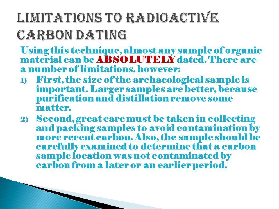 Radioactive dating carbon