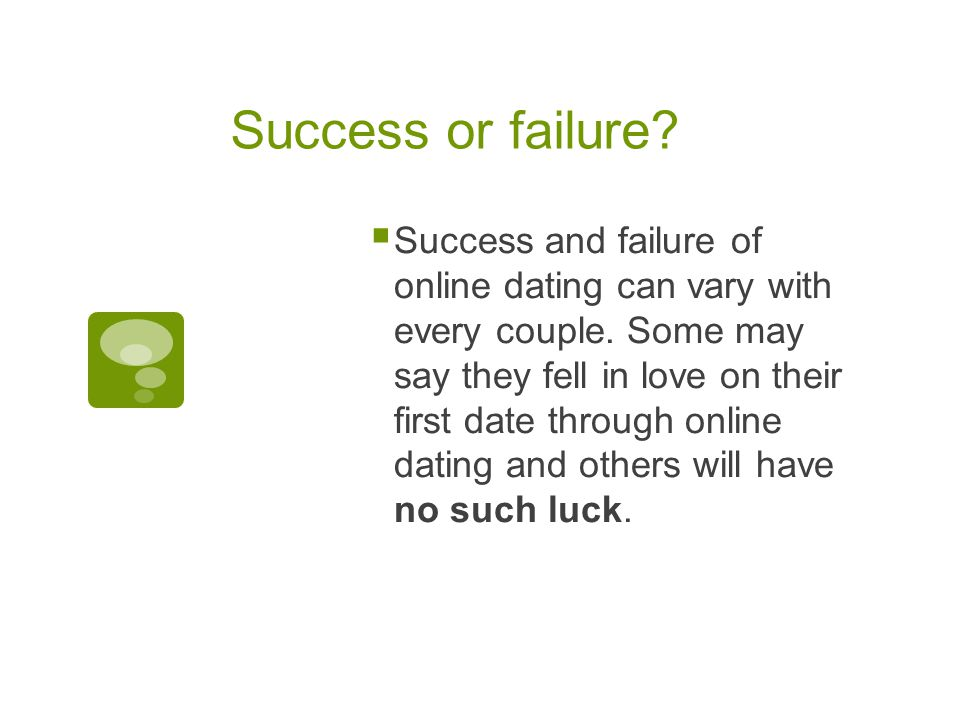 Dating site success rates