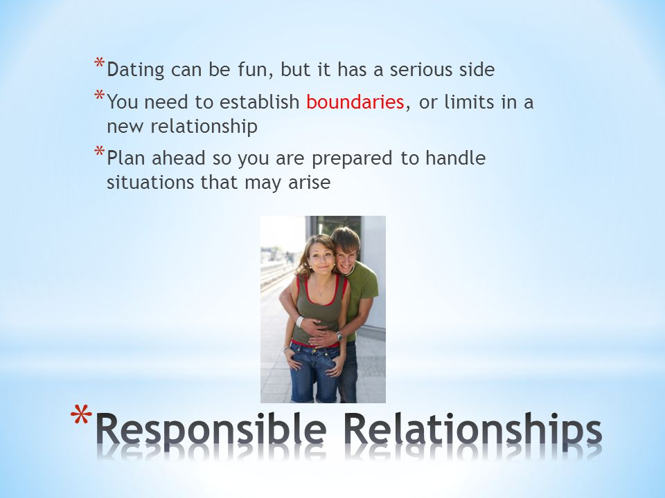Responsible Relationships
