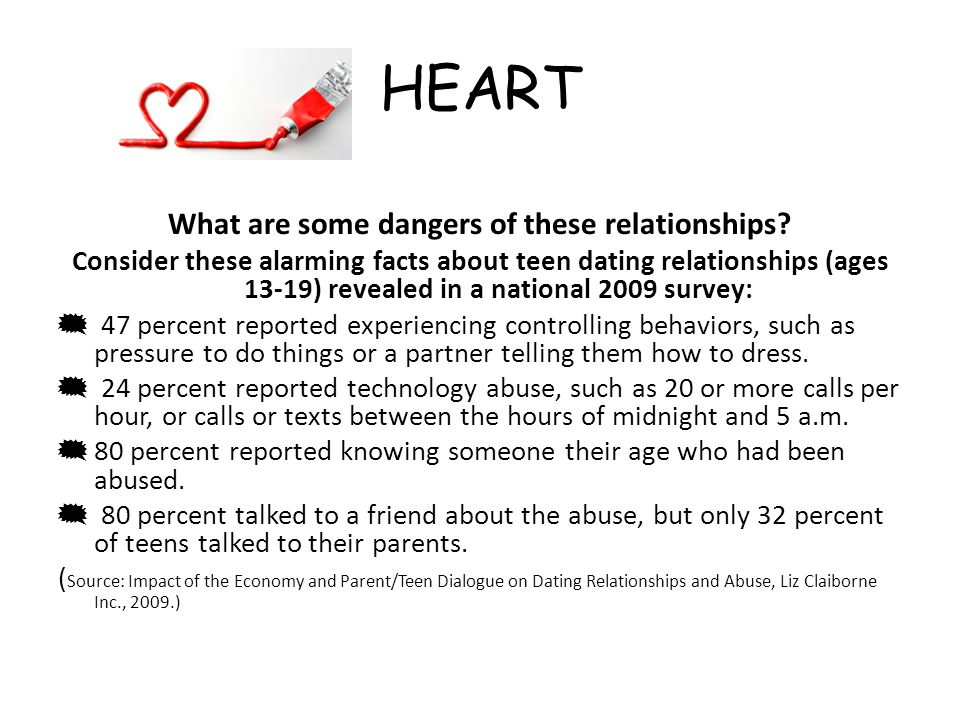 What are some dangers of these relationships