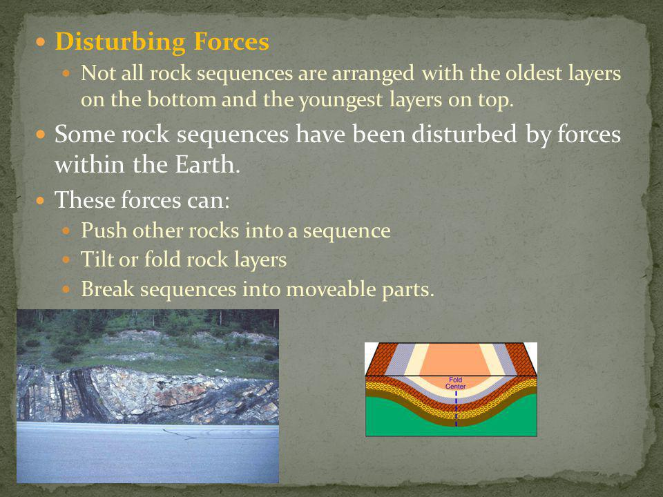 Relative dating which came first ppt video online download some rock sequences have been disturbed by forces within the earth publicscrutiny Gallery