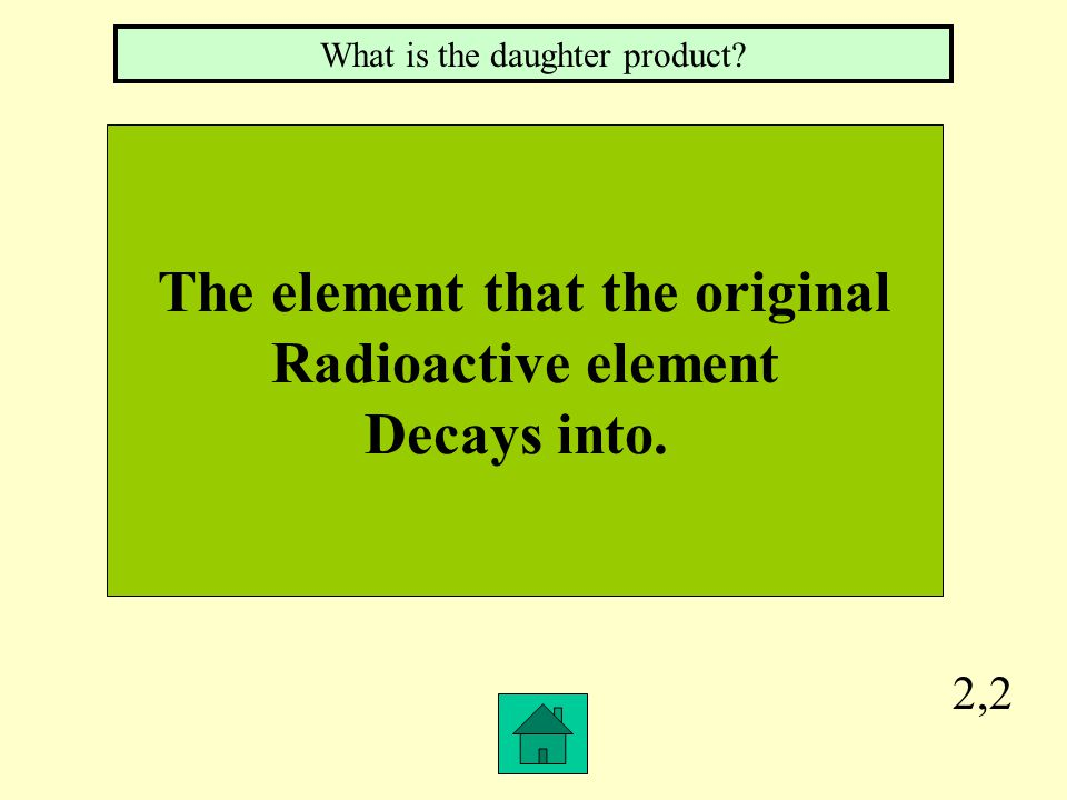 The element that the original