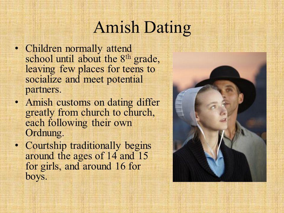amish dating customs