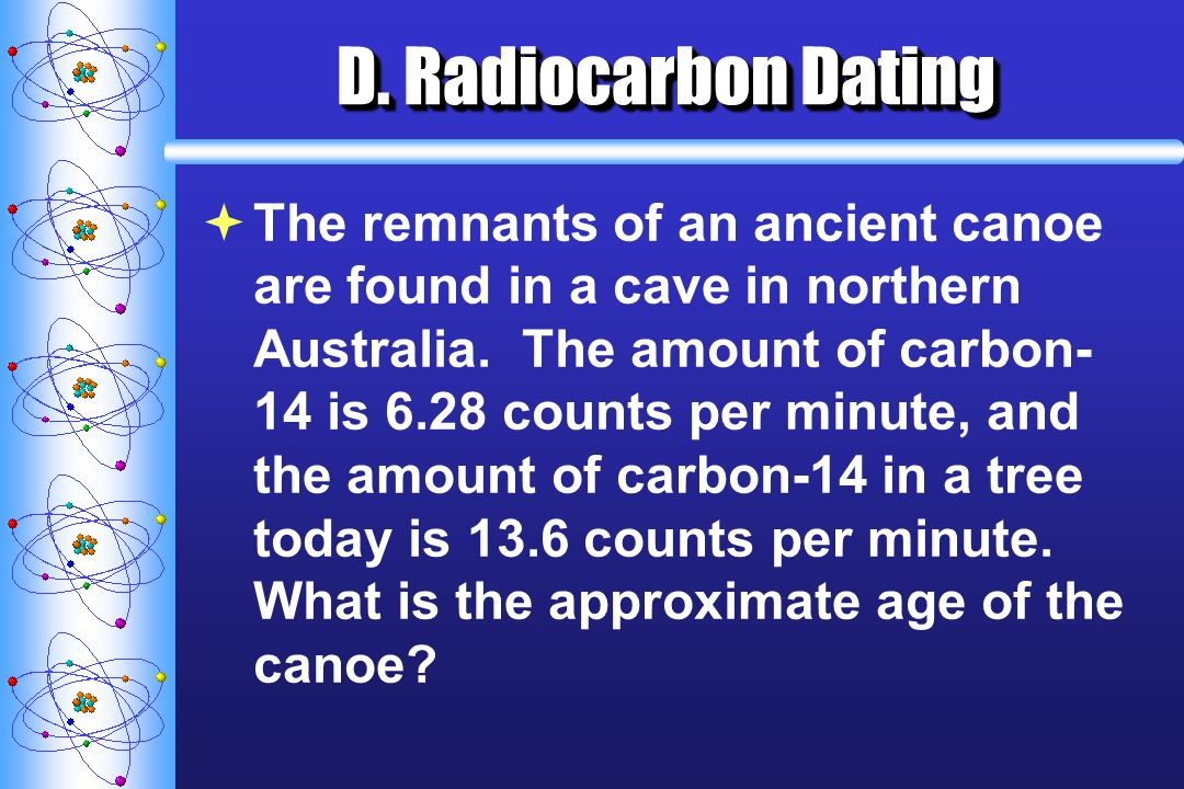 D. Radiocarbon Dating