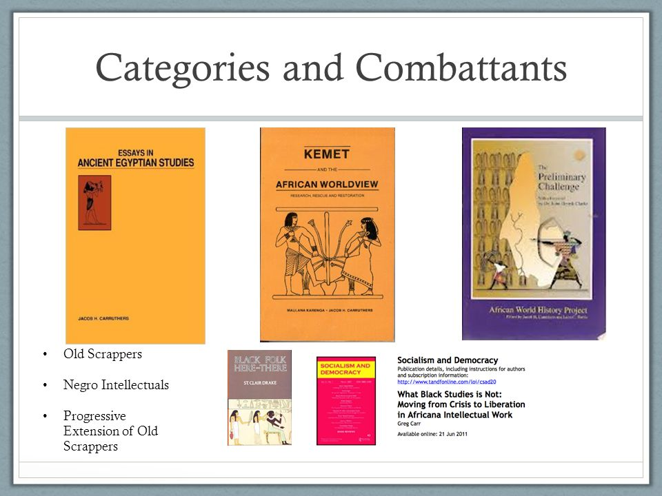 Categories and Combattants