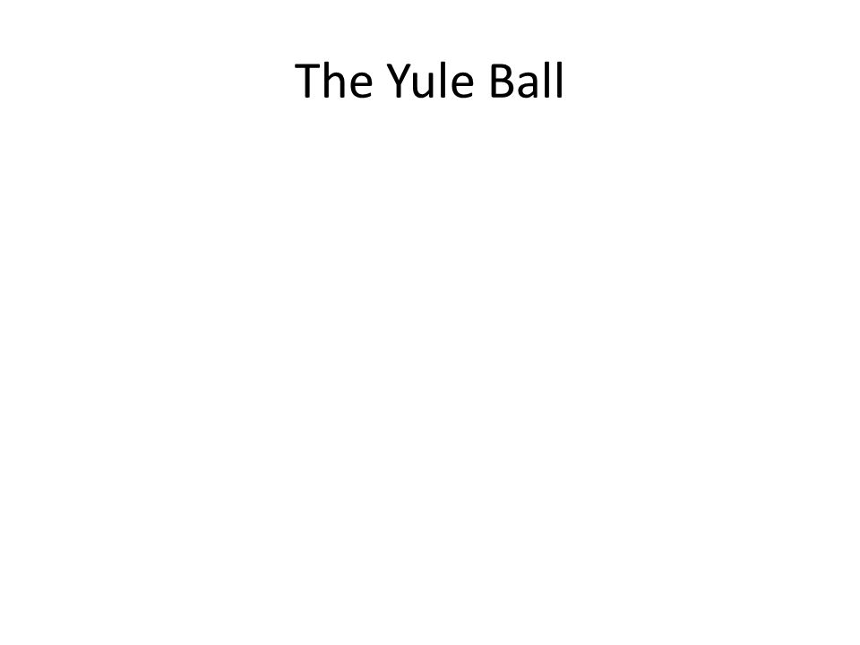 The Yule Ball
