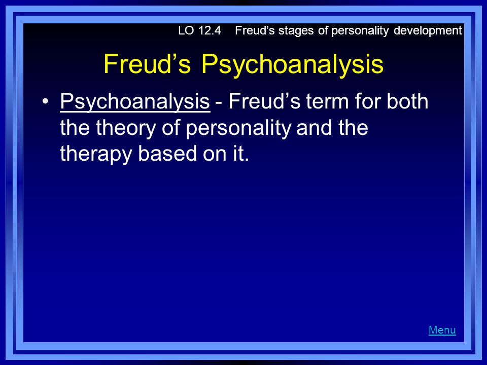 Freud's Psychoanalysis