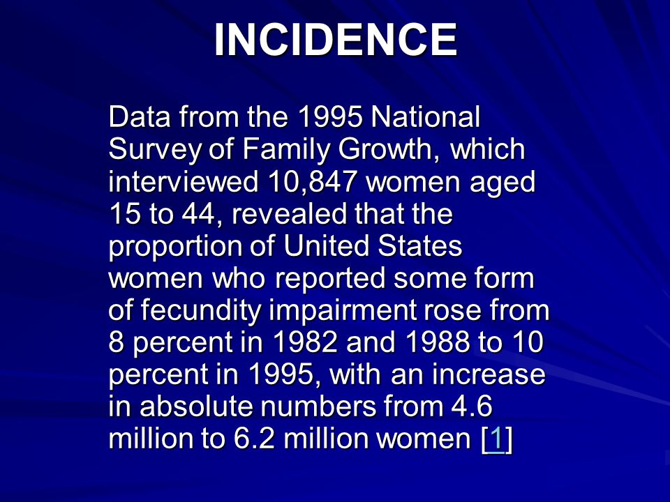 INCIDENCE
