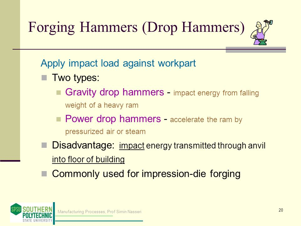 Forging Hammers (Drop Hammers)