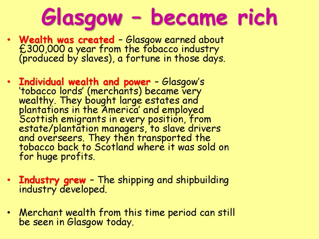 Britain and the slave trade (Wealth and Profits) - ppt download