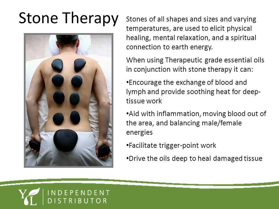 Stone Therapy Stones of all shapes and sizes and varying
