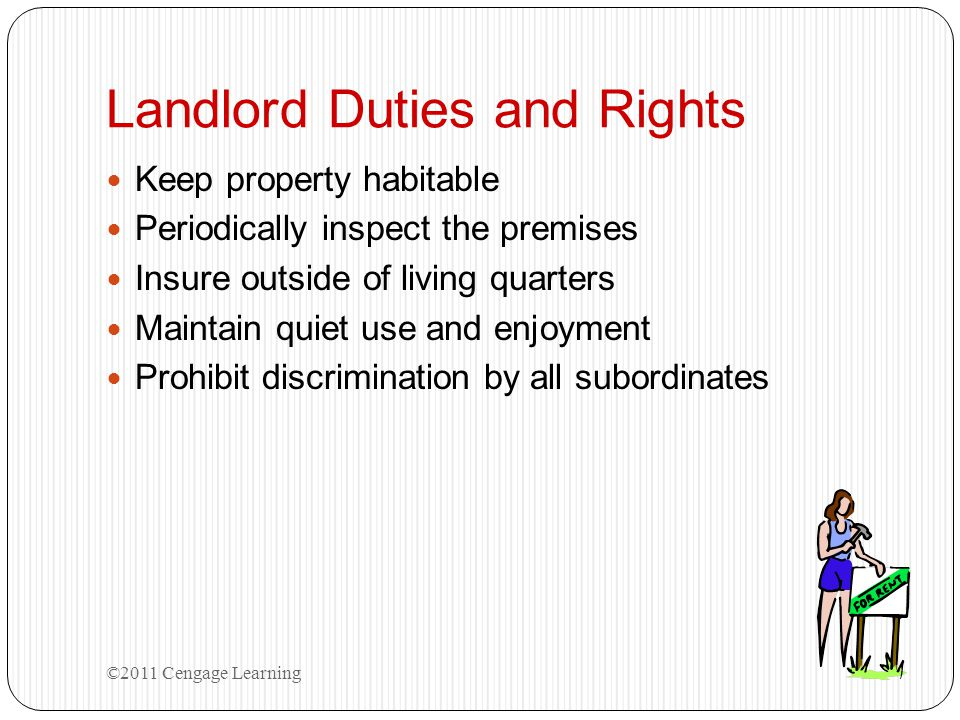 Landlord Duties and Rights
