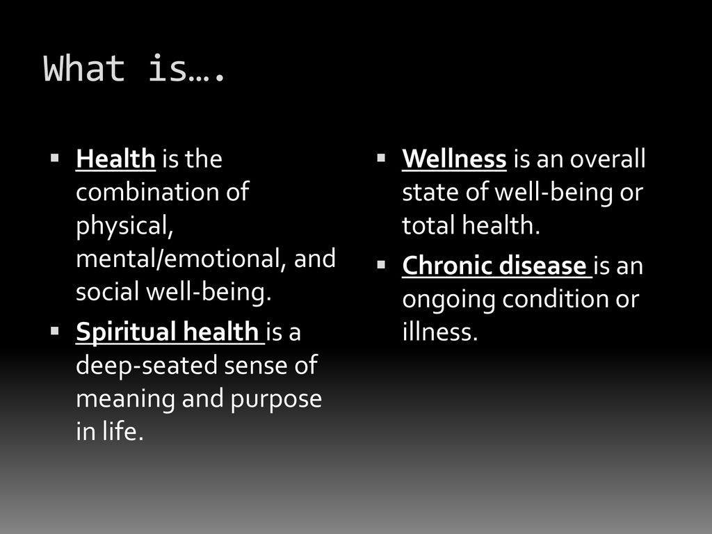 Lesson 1: Understanding Health and Wellness - ppt download