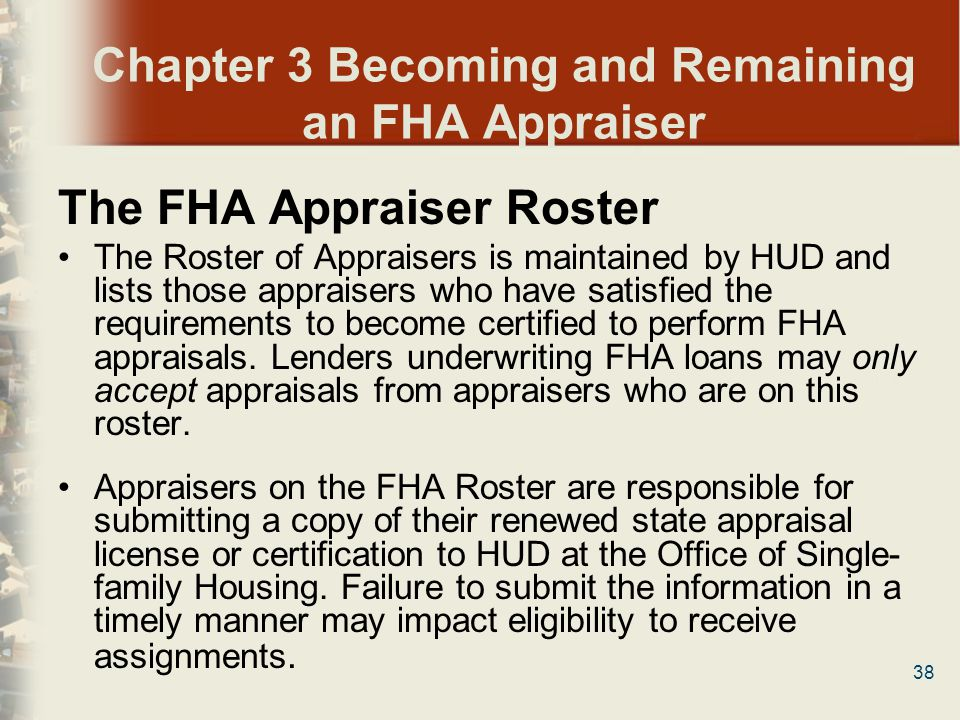 The Fha And Va Appraiser Thriving And Surviving Ppt Download
