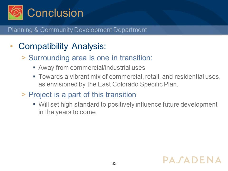Conclusion Compatibility Analysis: