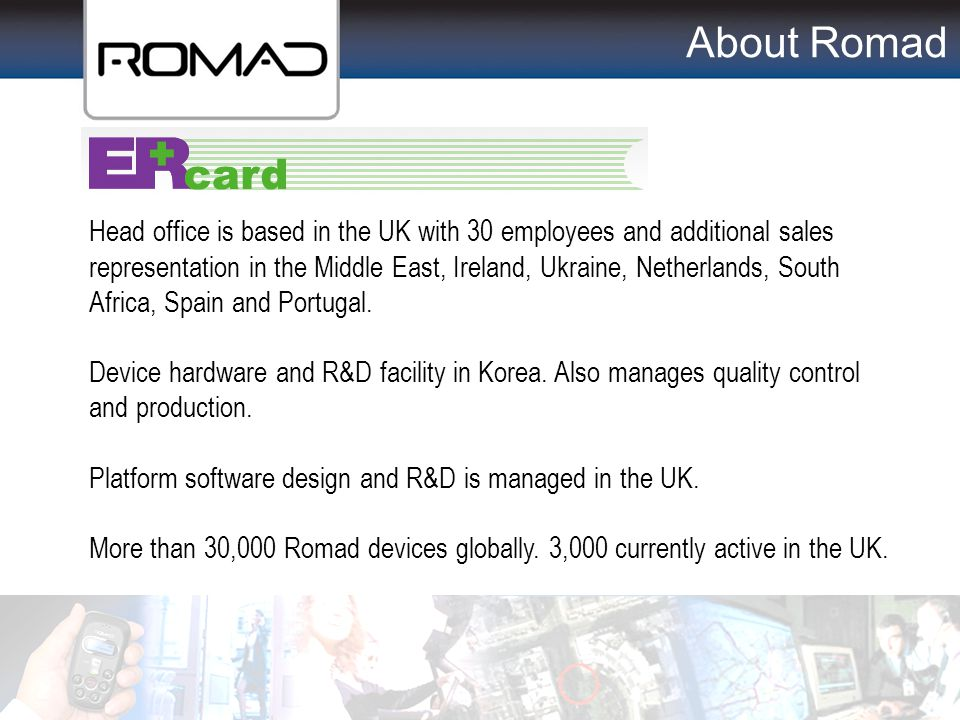 About Romad