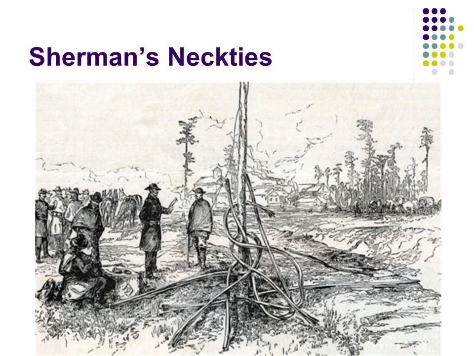 Sherman's Neckties http://quantumtour.com/entity/mcallister/video/1/ - explains the neckties.