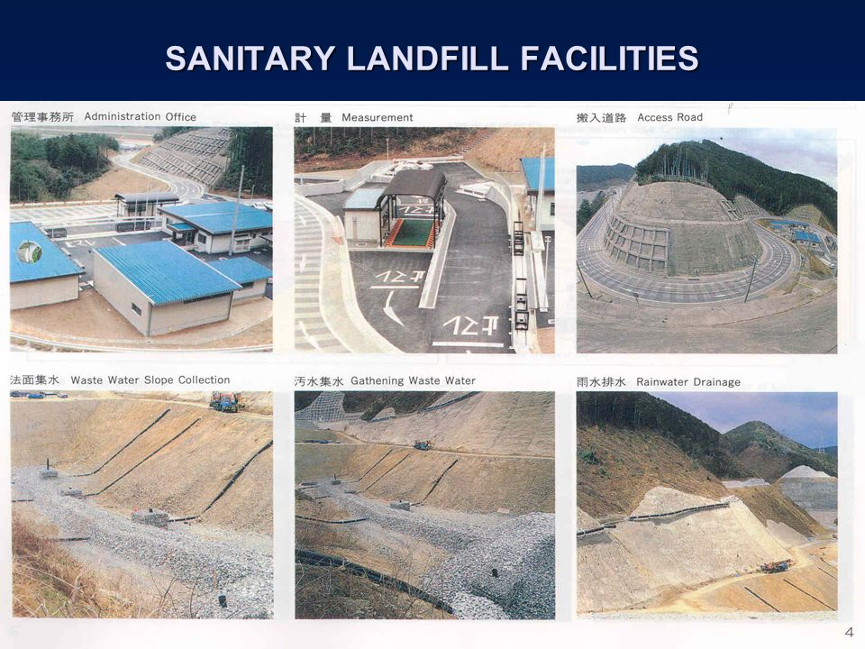 SANITARY LANDFILL FACILITIES