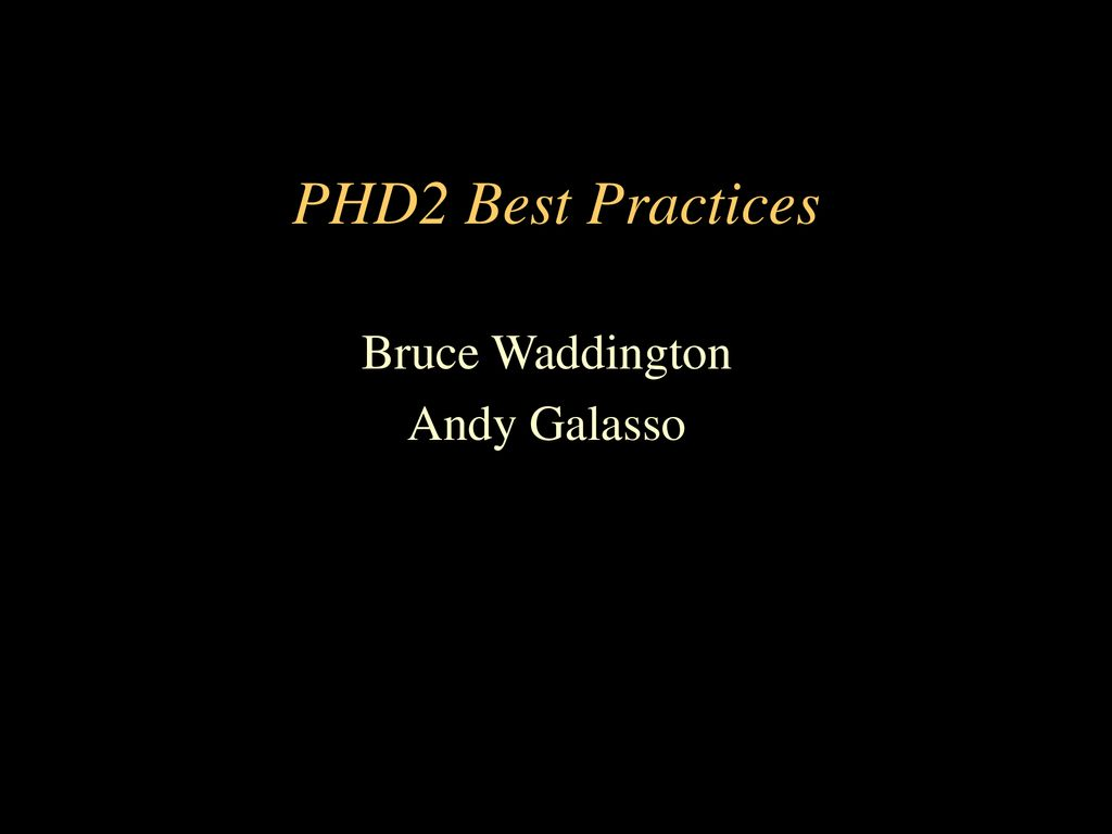Bruce Waddington Andy Galasso - ppt download