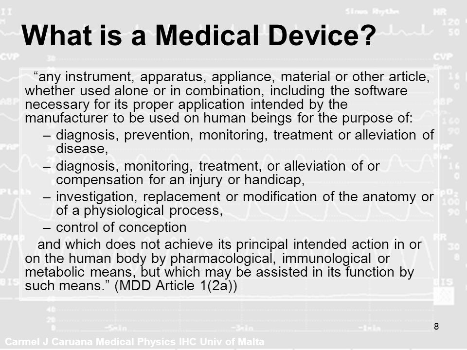 What is a Medical Device