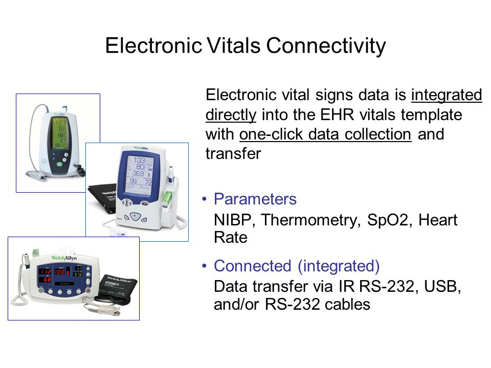 Electronic Vitals Connectivity