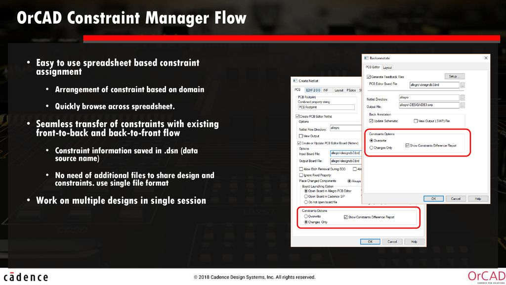 2018 Release (ISR49) (Capture Constraint Manager) - ppt download