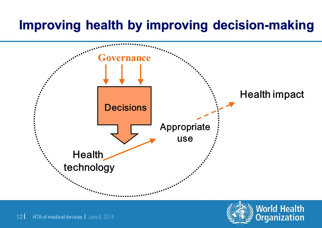 Improving health by improving decision-making
