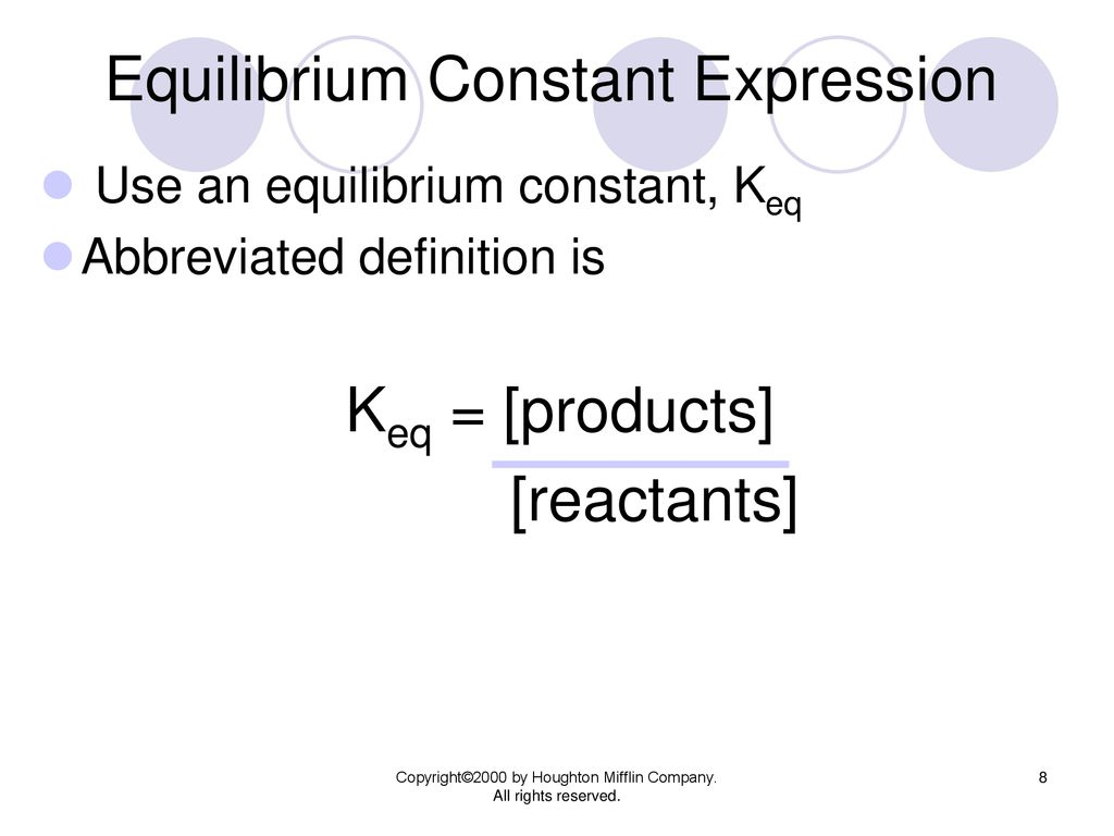 Chemical Equilibrium Chapter 18B - ppt download