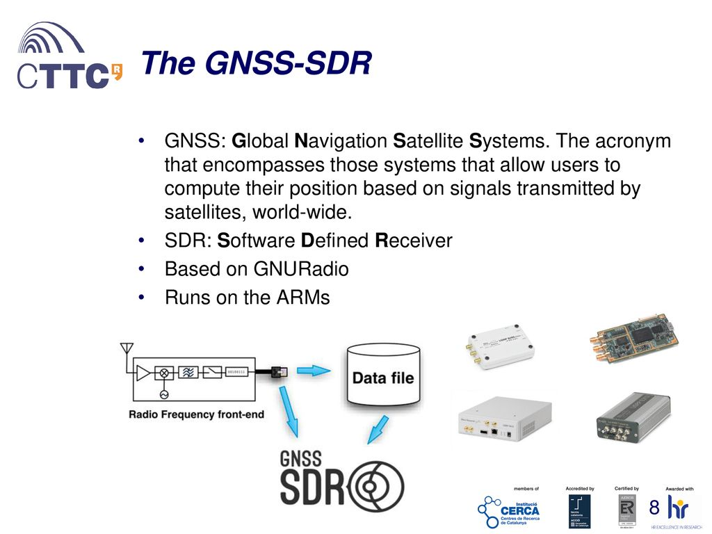 Implementation of a GNSS Space Receiver on a Zynq - ppt download