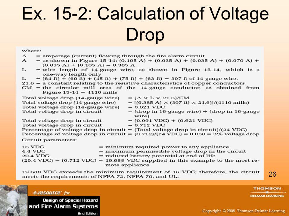 Fire Alarm Wiring Voltage Drop - DIY Enthusiasts Wiring Diagrams •