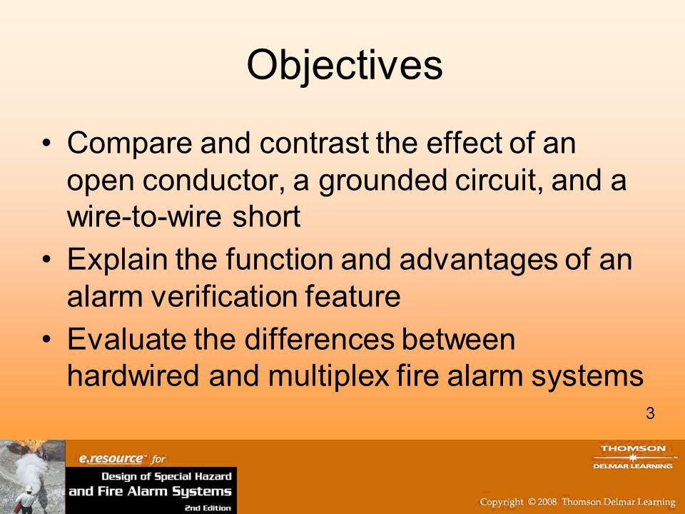 Objectives Compare and contrast the effect of an open conductor, a grounded circuit, and a wire-to-wire short.