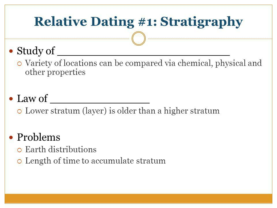 Seriation dating example of research 7