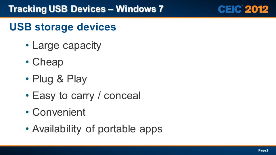 Availability of portable apps