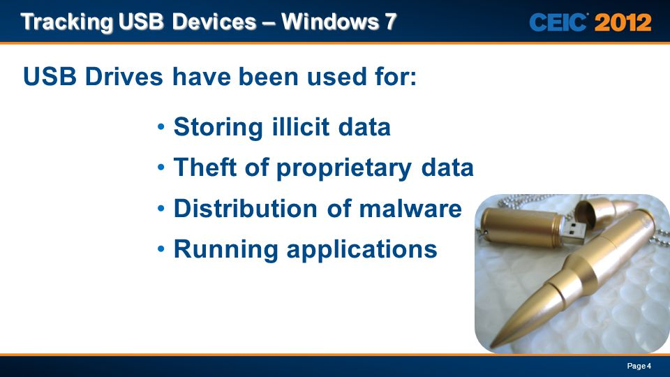 USB Drives have been used for: